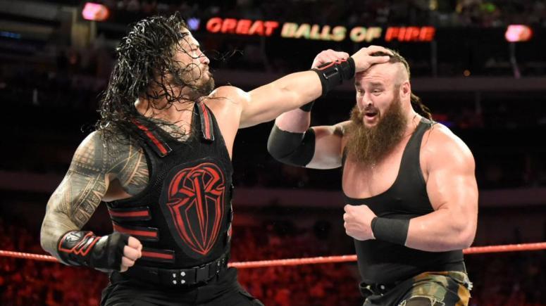 Roman vs Strowman
